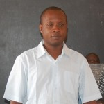 Djagba Aristide, enseignant au primaire