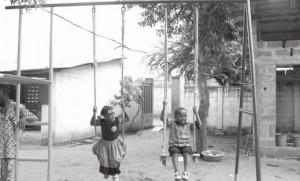 Les enfants de la maternelle s'amusent