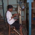 Atelier de tissage