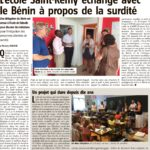 Ecole pour enfants sourds Saint-Rémy (Sambreville, Belgique): des échanges en perspective!